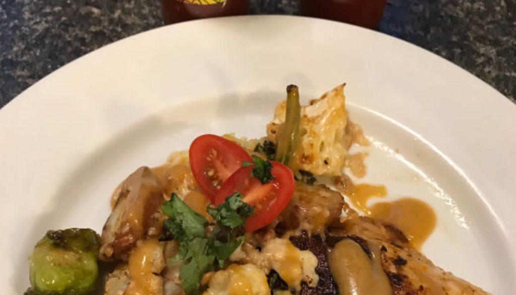 Habanero Roast Vegetables