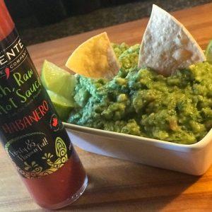 Habanero infused guacamole