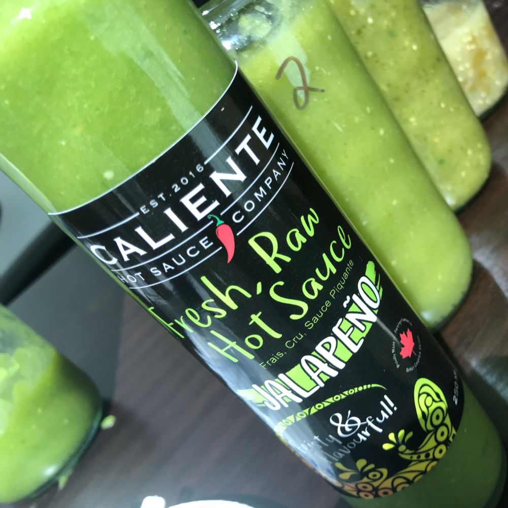 Caliente Jalapeno Hot Sauce - IN THE WORKS