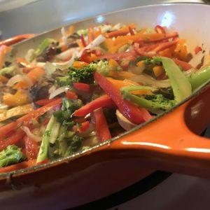 Chiptole Stuffed Zucchini-veg